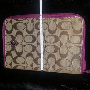 Coach tablet/ebook case